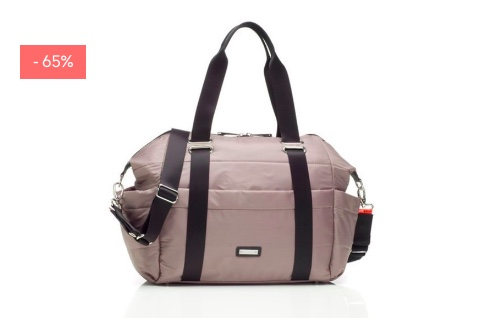 "SALE: Wickeltasche ""Sandy"" in taupe"