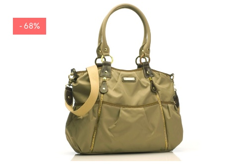 "SALE: Wickeltasche ""Olivia"" in moss"