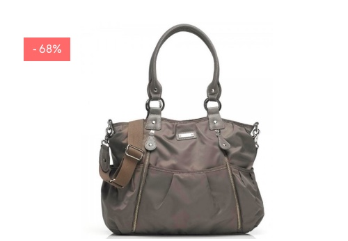 "SALE: Wickeltasche ""Olivia"" in grey"