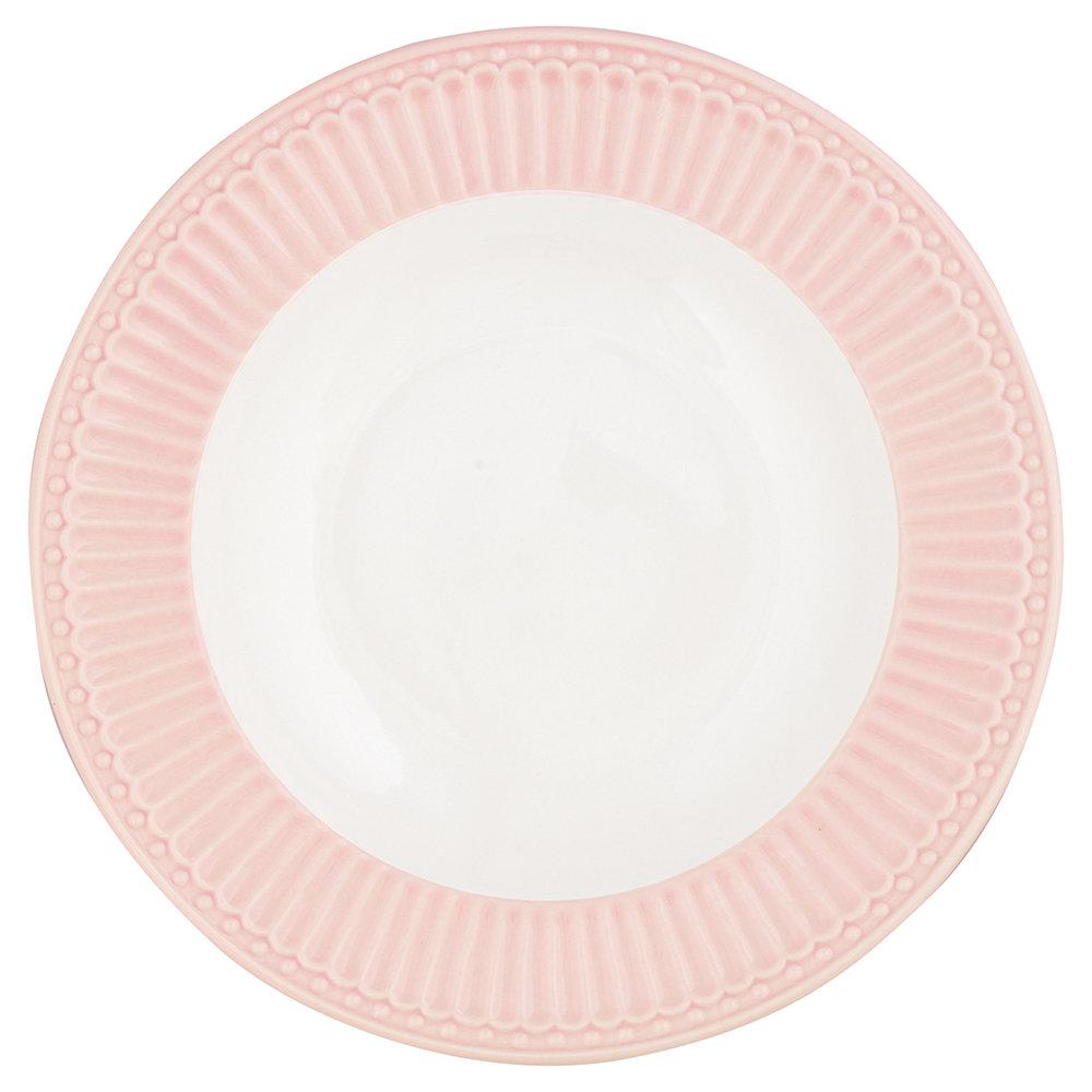"""Tiefer Teller """"Alice Pale Pink"""""""