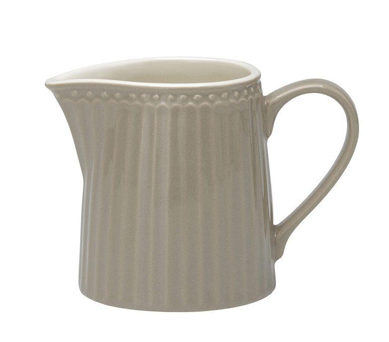 """Milchkännchen aus Porzellan """"Alice Warm Grey"""""""