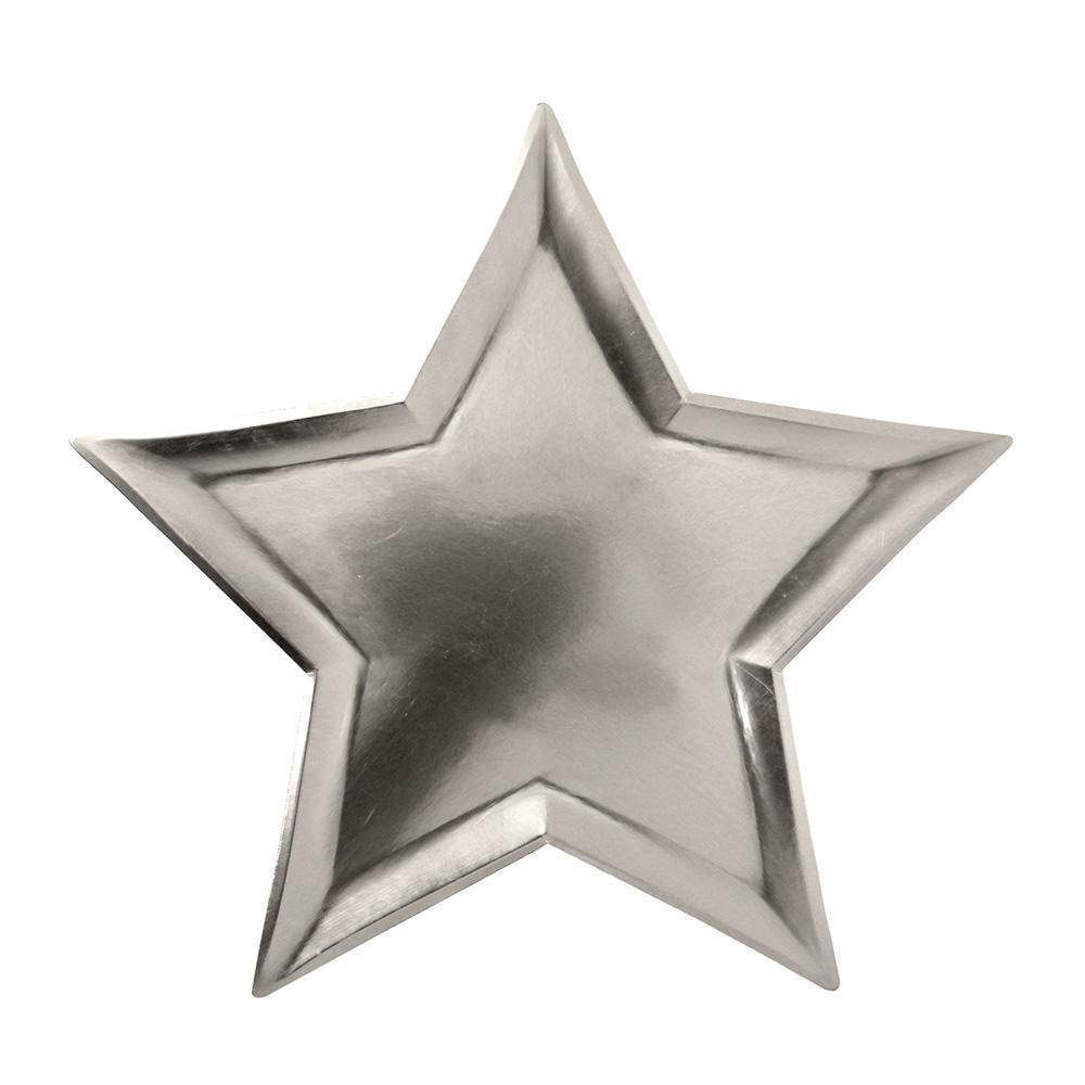 """Pappteller """"Silver Star"""" von MERI MERI"""