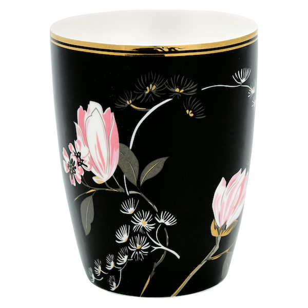 "Latte Cup Becher ""Amelie Black von GATE NOIR"