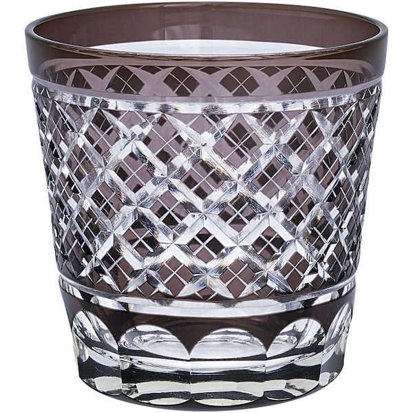 "Wasserglas ""Cross Grey Crystal"" von GATE NOIR"