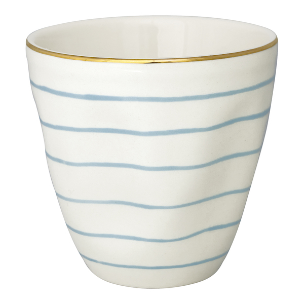 "Latte Cup ""Sally Pale Blue"" von GREENGATE"