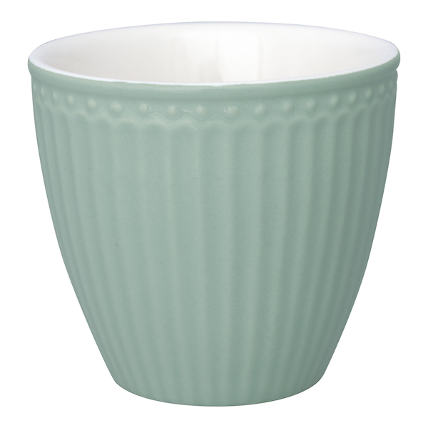 "Latte Cup Becher ""Alice Dusty Mint"" von GREENGATE"
