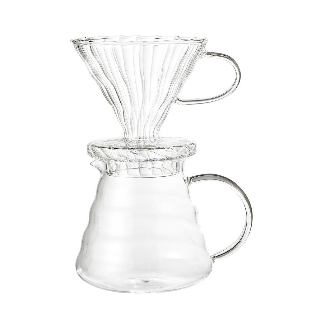 Kaffeezubereiter aus Glas von BLOOMINGVILLE