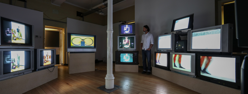 Installation View of 'Repetition and Endurance' works.