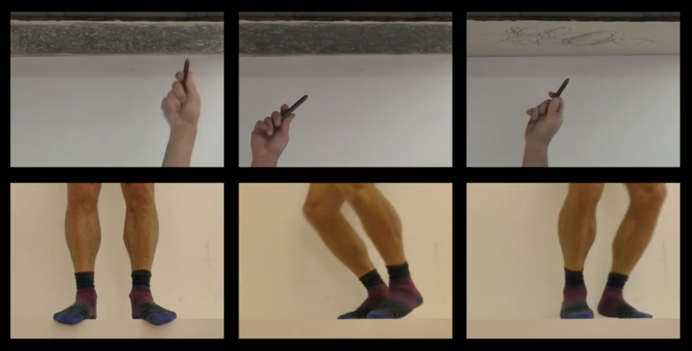 JumpDraw,  Video Performance, (still) 2015