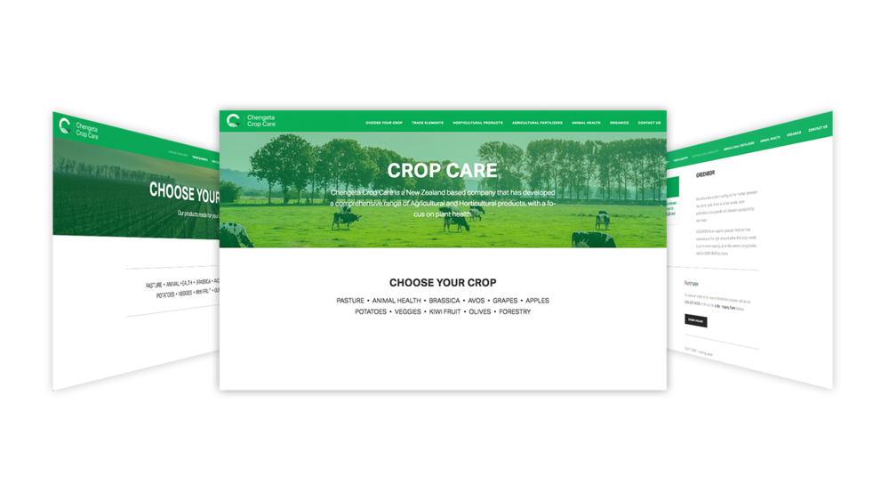 Chengeta Crop Care - web design