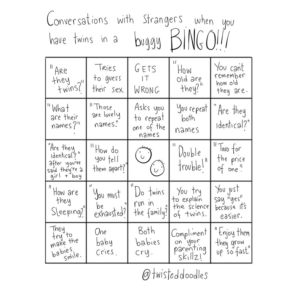 This Buggy Bingo idea came from @twisteddoodles, head over to them to like their playful parenting attitude!
