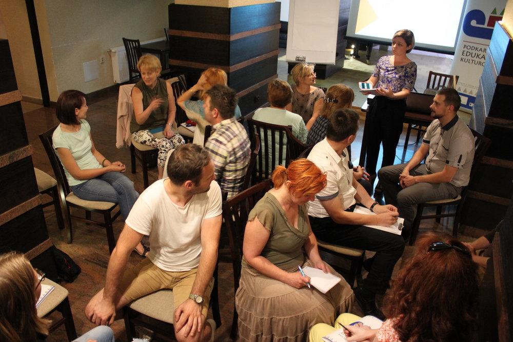 """Warsztat """"Jak efektywnie współpracować z mediami?"""", prowadząca: Bernadeta Szczypta, Centrum Kulturalne w Przemyślu, 22 czerwca"""