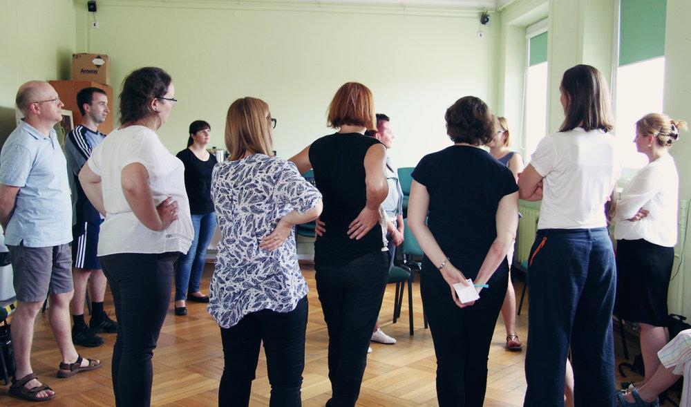 """Warsztat """"Aktywne metody pracy z młodzieżą"""", prowadząca: Aleksandra Chodasz, Miejski Dom Kultury w Stalowej Woli, 23 czerwca"""