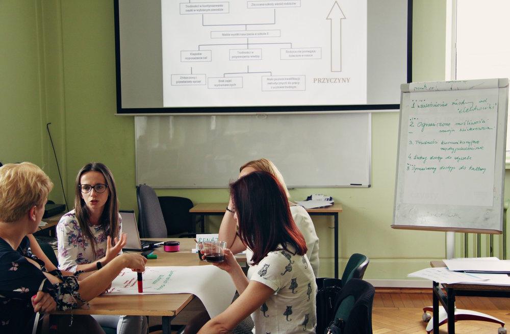 """Warsztat """"Projekt a wniosek czyli jak skutecznie aplikować po fundusze na realizację projektów"""" , prowadząca: Renata Stefaniak, Miejski Dom Kultury w Stalowej Woli, 24 czerwca"""
