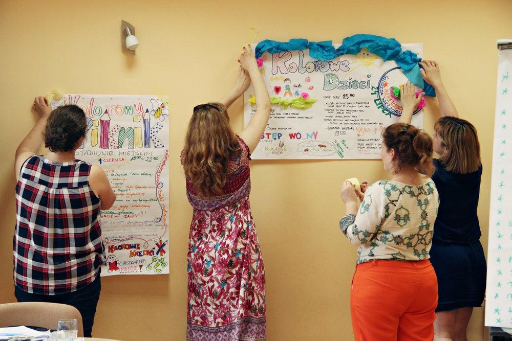"""Warsztat """"Społeczności lokalne - jak pobudzać do działania?"""", prowadząca: Edyta Salnikow, Rzeszowski Dom Kultury, 30 czerwca"""