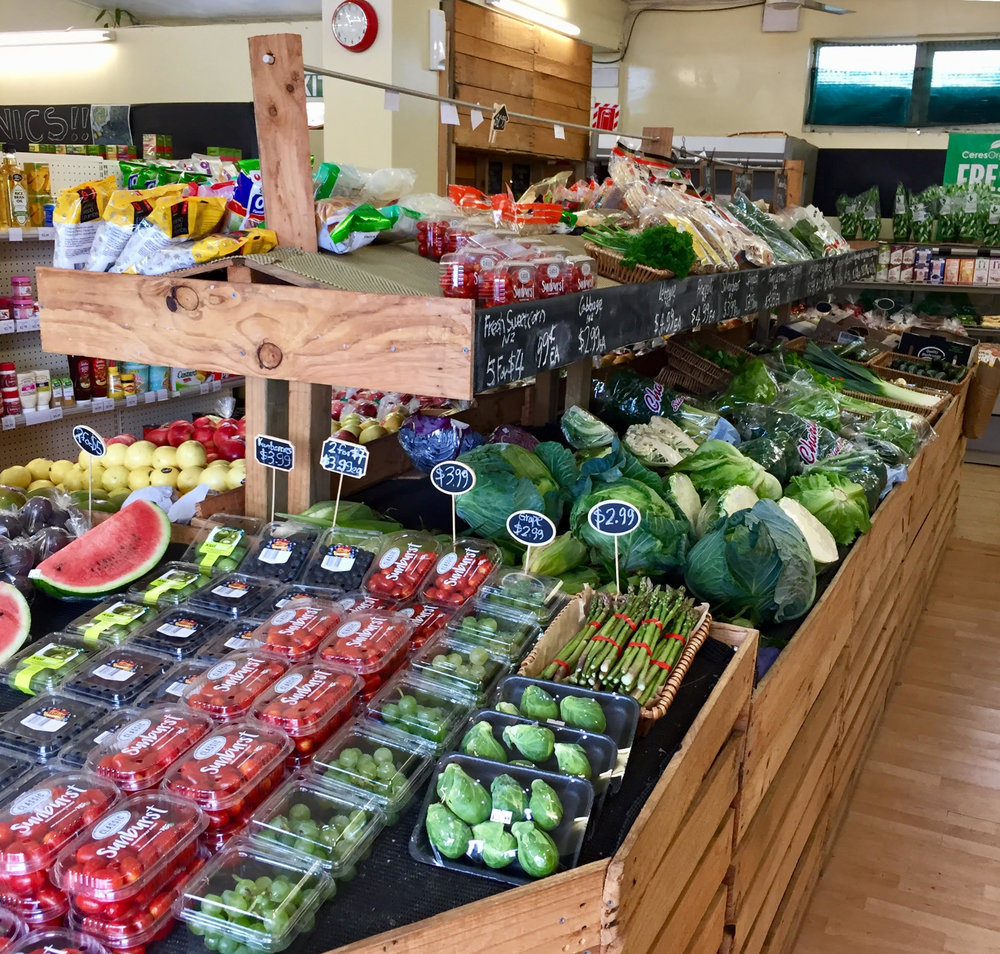 Rainbow 5+ A Day: There's an array of colourful, in-season, spray-free fruit and veges at Greens.