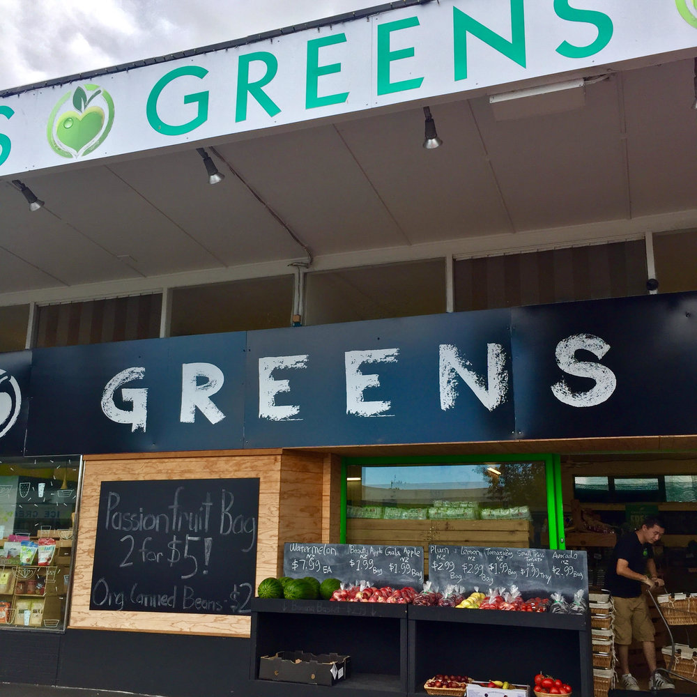 "Greens Grocer: The ultimate ""local"", this organic food store in Te Atatu Peninsula is a real find."