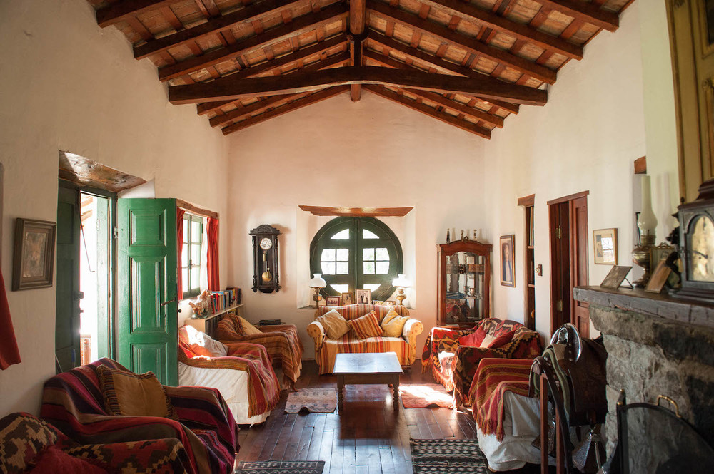 Traditionally Decorated Estancia Los Potreros Sitting Room