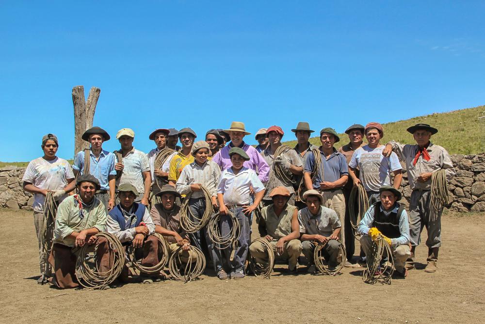 The Gaucho Team at Estancia Los Potreros