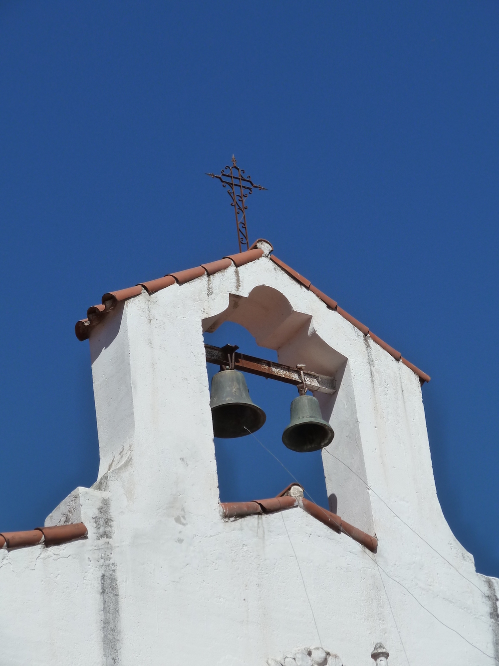 Bell tower in Córdoba Argentina