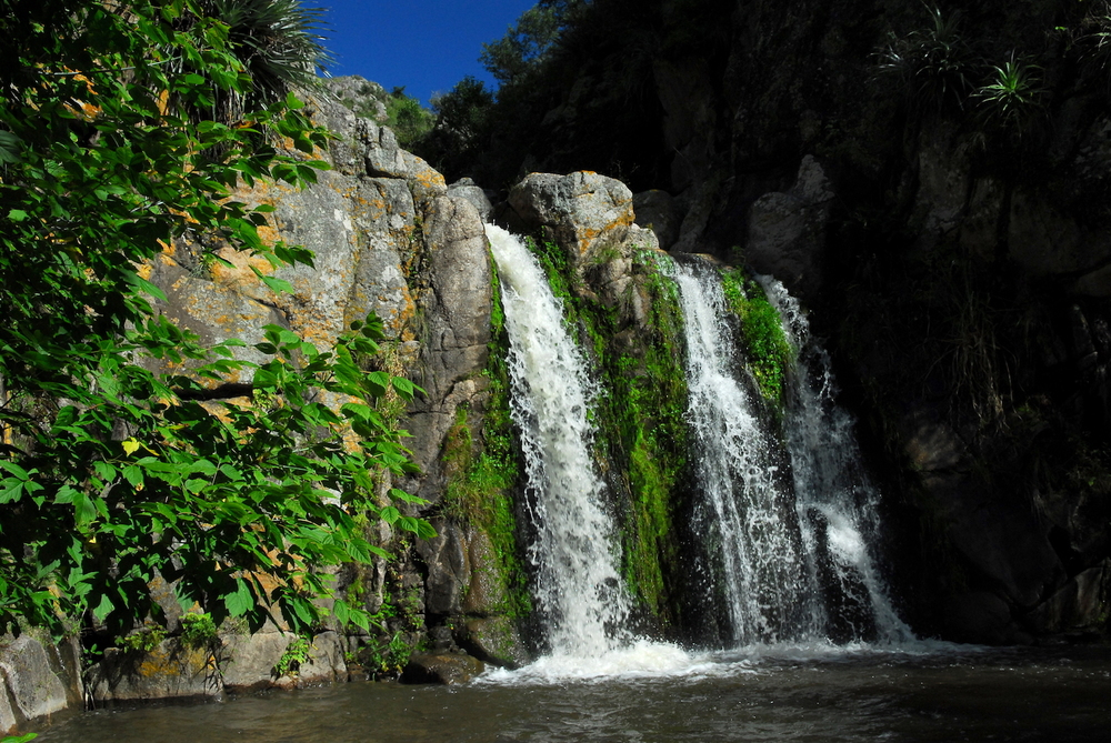 Waterfall in  Córdoba Argentina