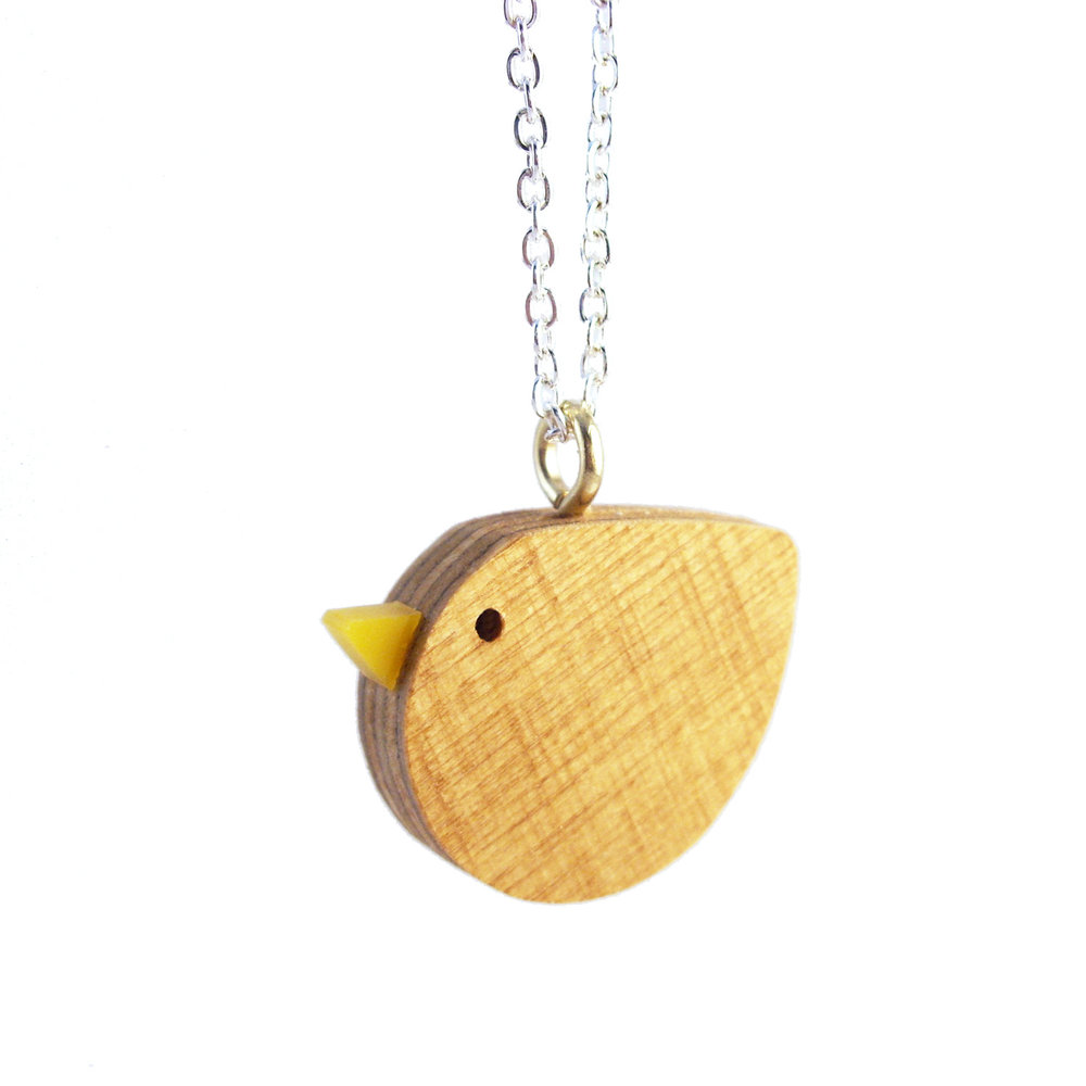 i am acrylic Wood Bird Necklace.jpg