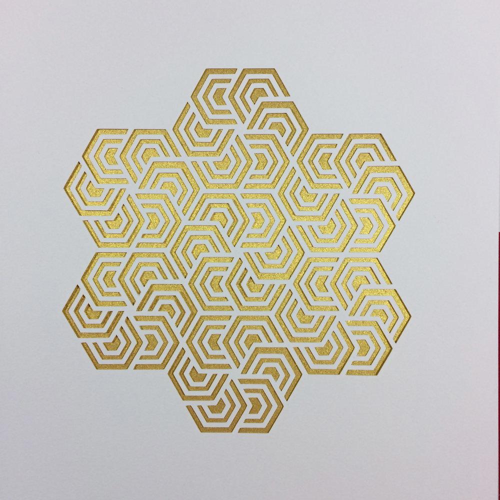 Kartegraphik Hexagon Paper Cut 3.JPG