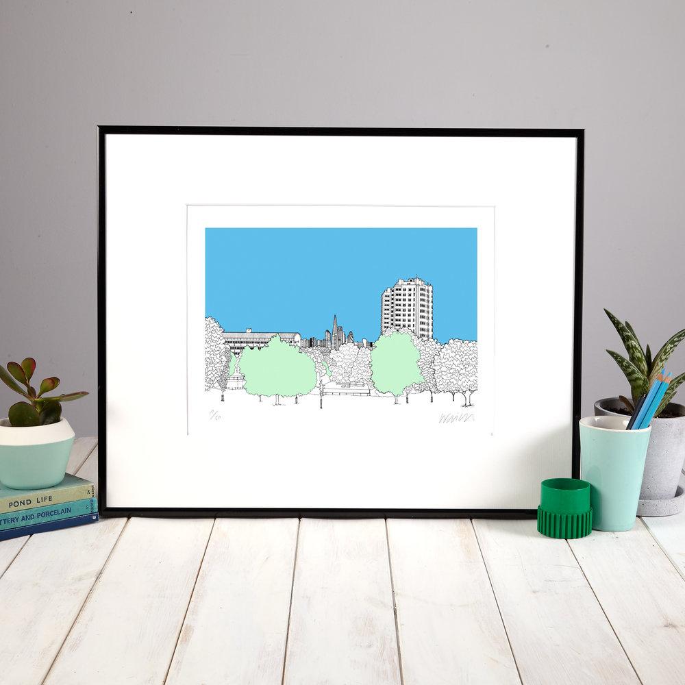 Brockwell Park Framed.jpg