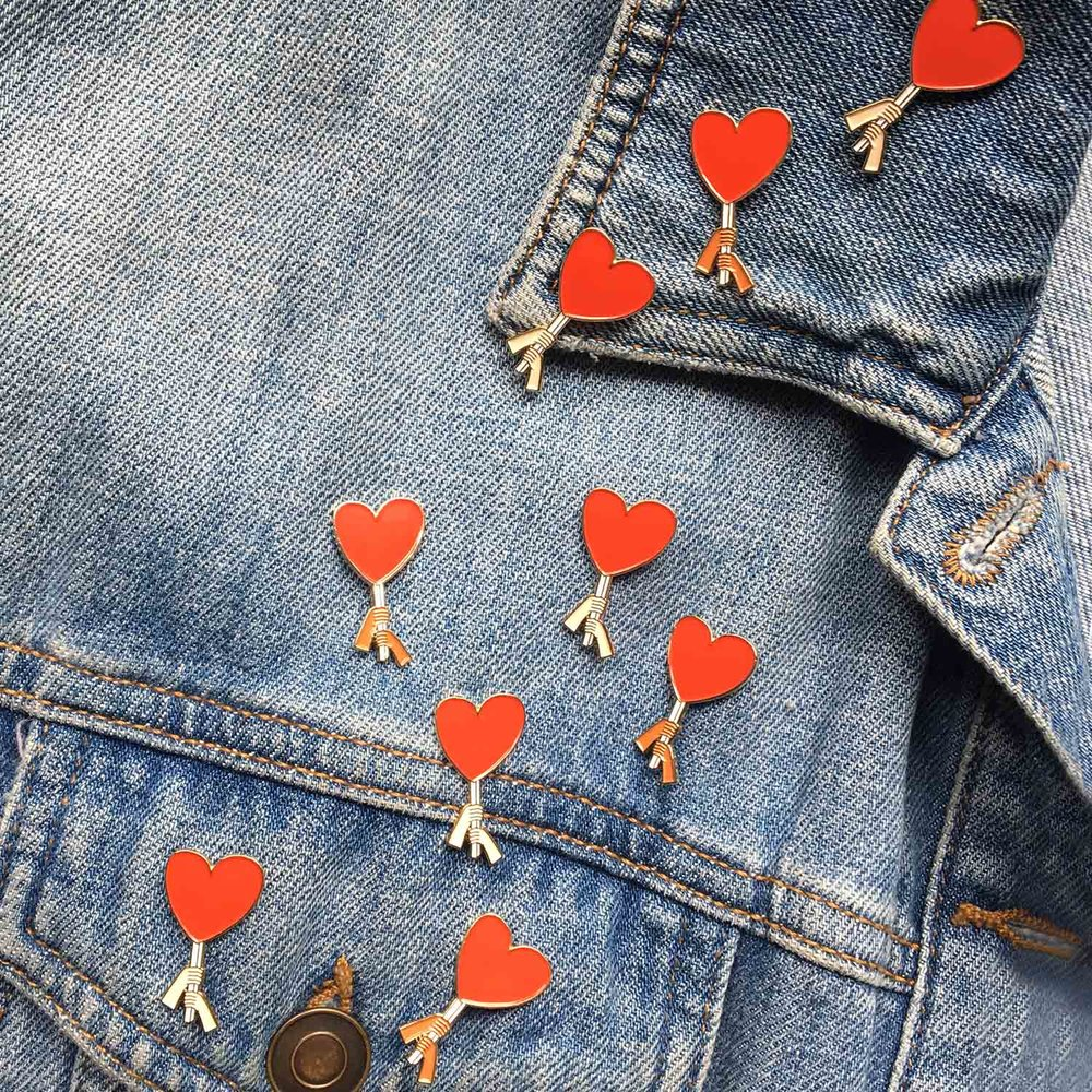 A rally of love set up on jacket.jpg