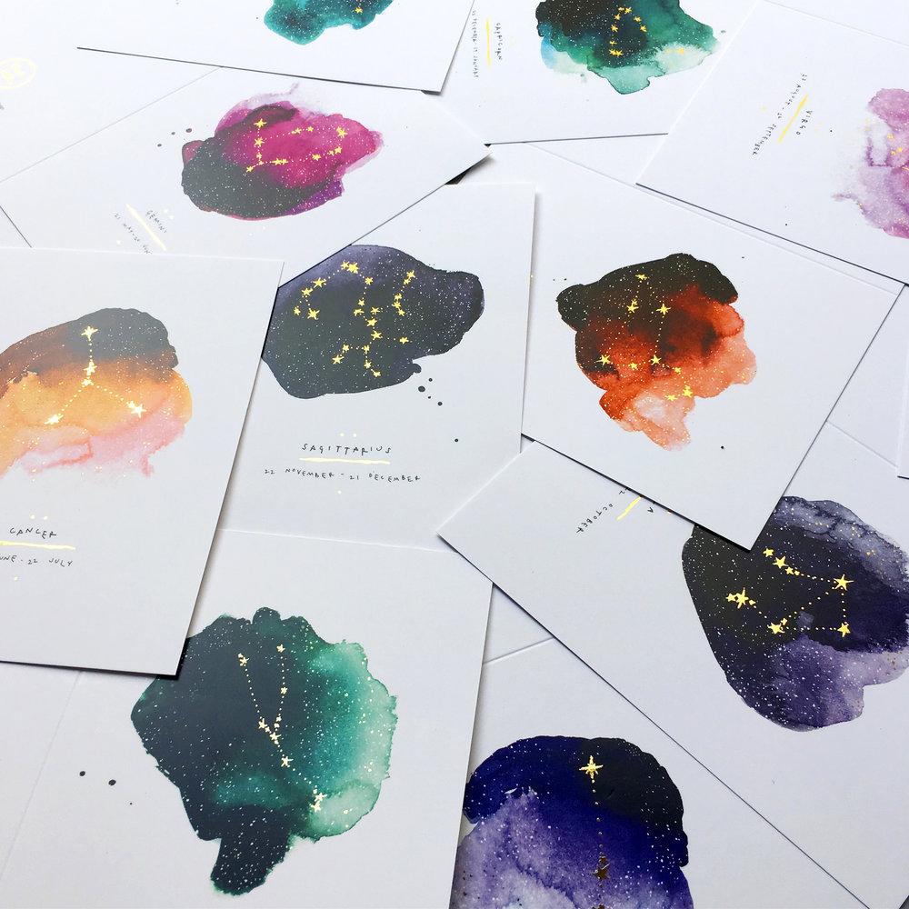 Blank Inside Inky Zodiac Greeting Cards.jpg