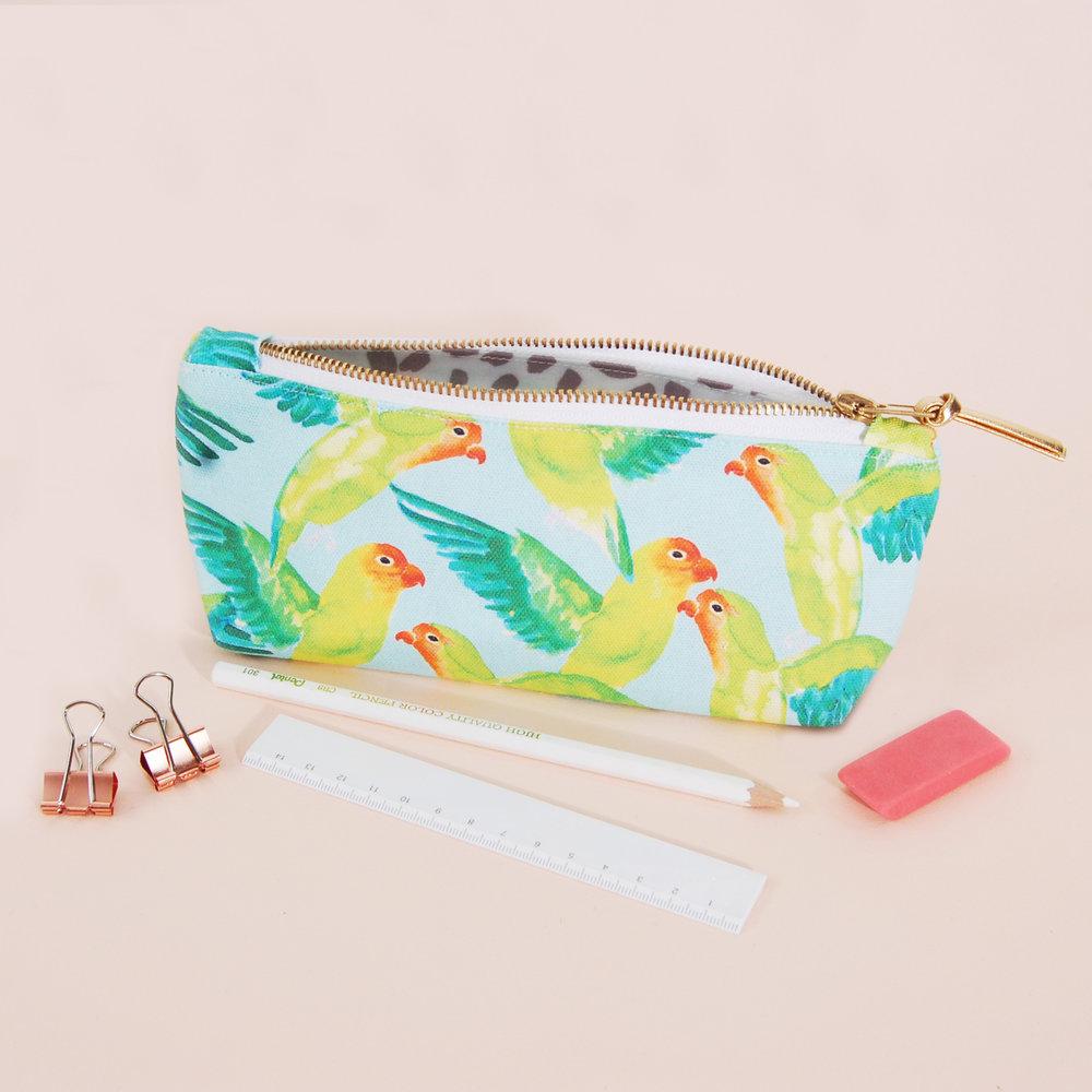 Blank Inside Lovebirds Pencil Case 2, £15, www.blankinsidedesign.co.uk.jpg