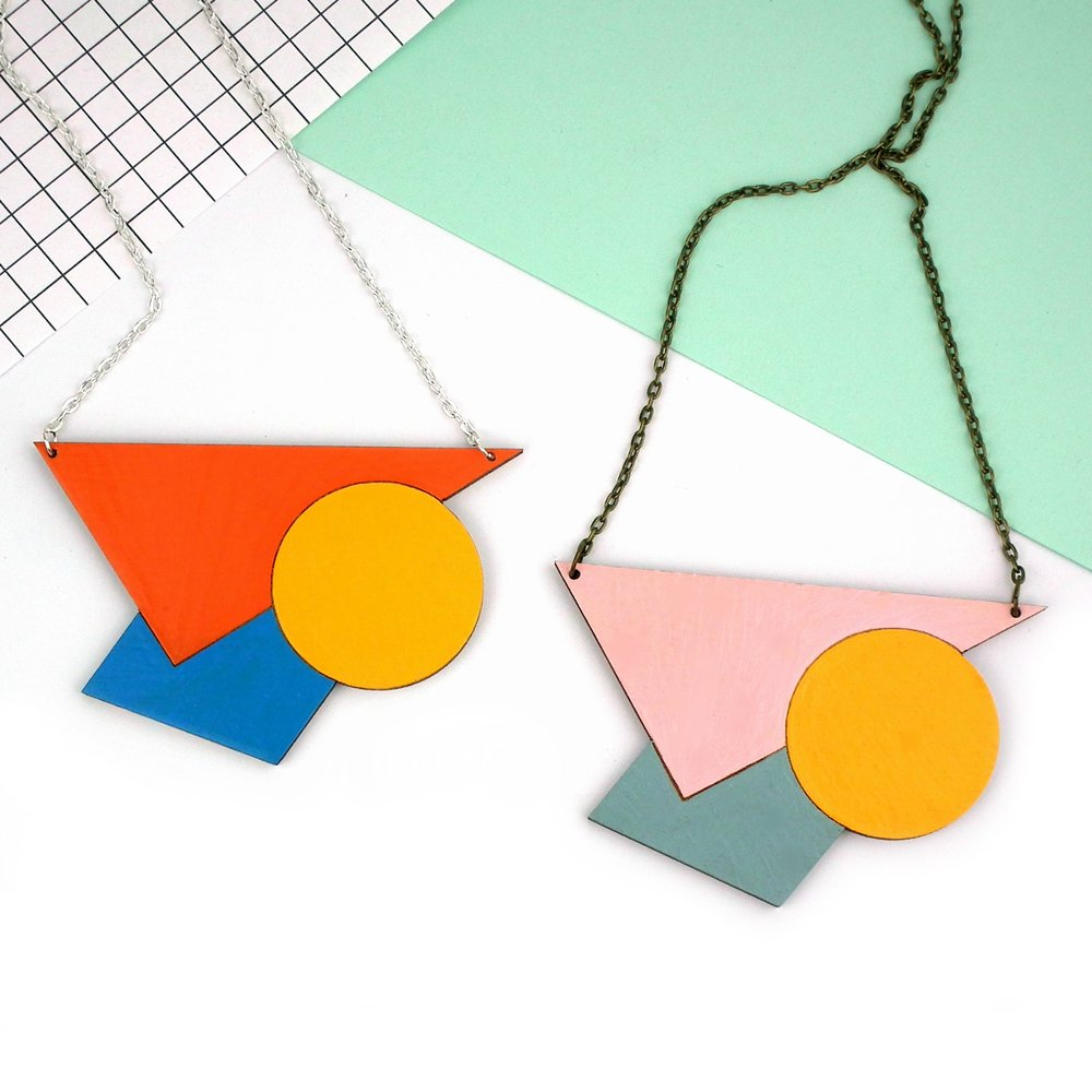 Red Paper House - Statement Geometric Necklace.jpg