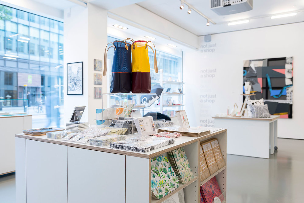 'Not Just a Shop' - UAL's retail space stocks work by current and former students