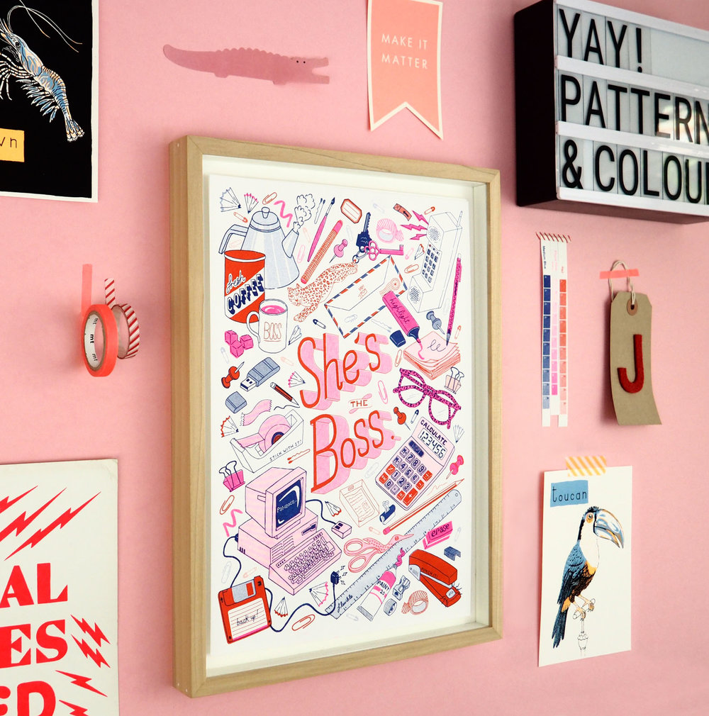 She's-the-boss-Girl-Lady-Boss-Riso-risograph-print-3sm.jpg