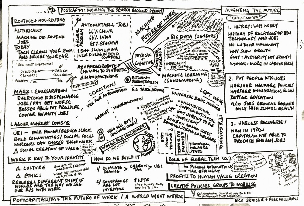 Page 1 | Notes in the little clouds were from the post-talk Q&A session. There were a few spatial issues and will need to develop better intuition for what's important as it comes, or otherwise be patience and summarise in 10-minute delays.