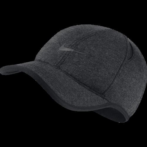 7c14ad3b349 NikeCourt AeroBill Featherlight Tennis Cap - Black Heather.  932472-032-PHSFH001-2000.png