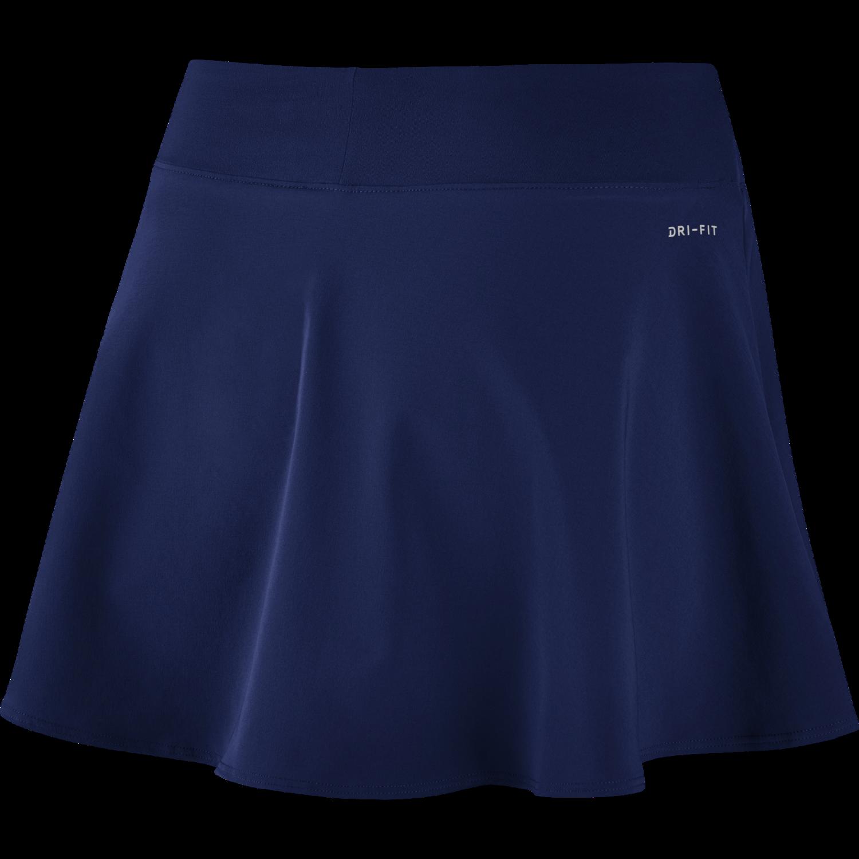 4d071cd9ca09 NikeCourt Flex Pure Skirt Flouncy - Blue Void — String Sports