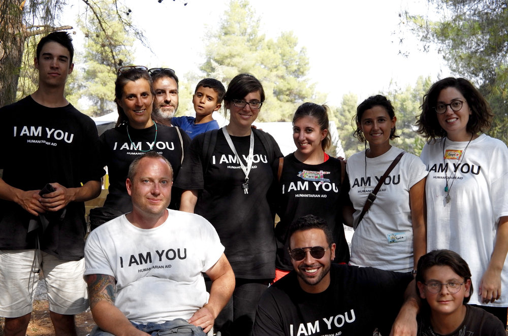 October 2016: I AM YOU turns one years old and stands strong as one of the leading volunteer organisations in Greece, known for it's hard-working, skilled volunteers and innovative humanitarian aid programs.