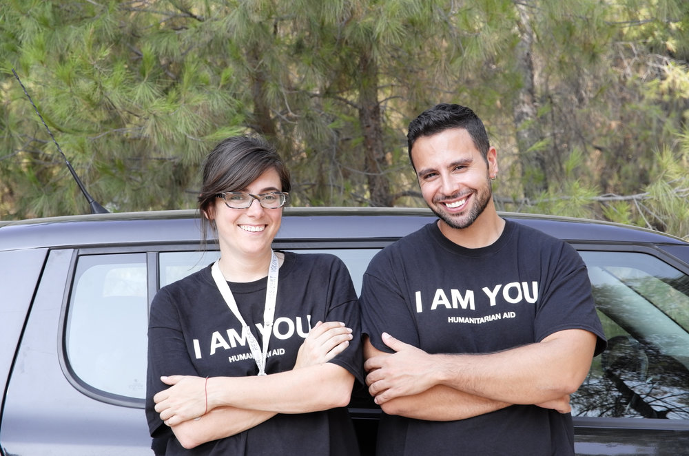 September 2016: Up until now, all ground operations had been led by founders Rebecca Reshdouni and Damian Ardestani. For the first time, a non-founder was appointed to lead the organisation on the ground. Katina Saoulli, a UK-resident from Cyprus was promoted to the position after months of volunteering, displaying her excellent leadership skills.