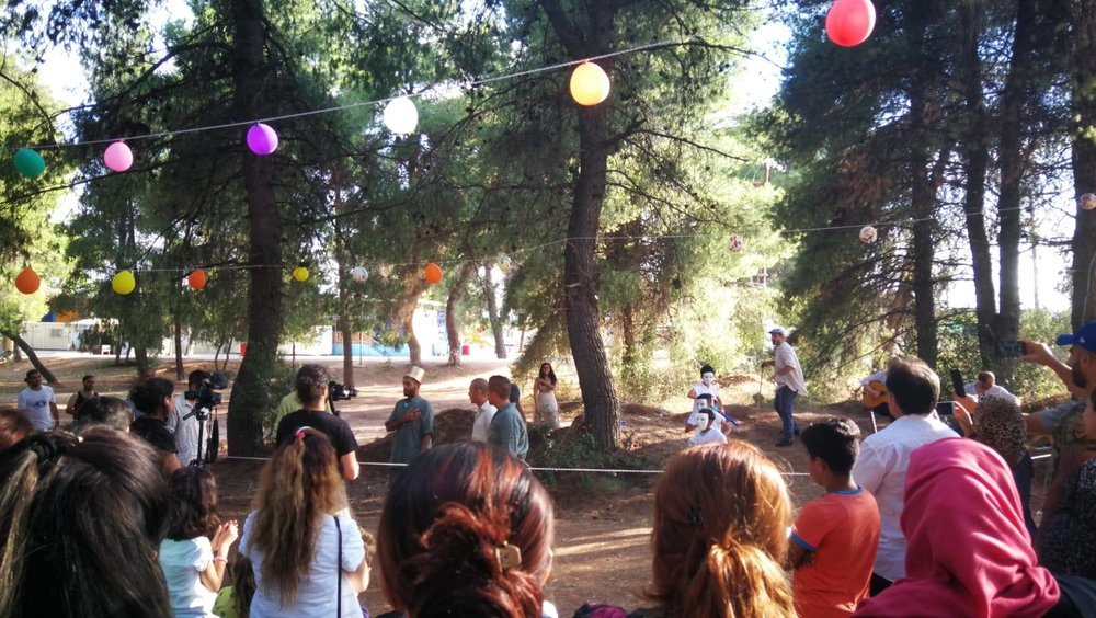 I AM YOU and Campfre Project Shakespeare Play The Tempers Ritsona Camp