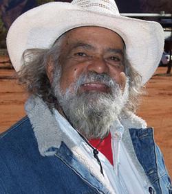Echoes founding director Tijilpi Bob Randall