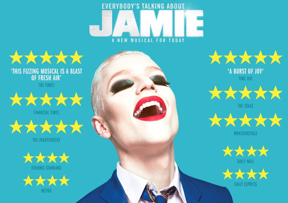 Everybody's Talking About Jamie - We look after the musicians on this fabulous 5 star musical in London's glittering West End.