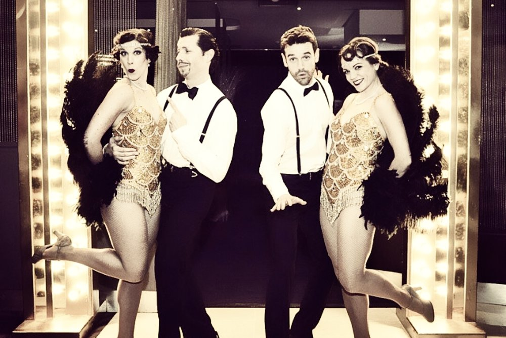 Sequins and Feathers - The Flapper Girls and Guys