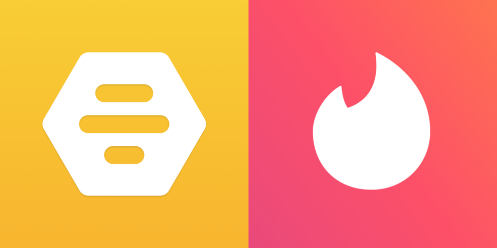 Tinder Vs  Bumble: Which Dating App Should You Use To Lie To