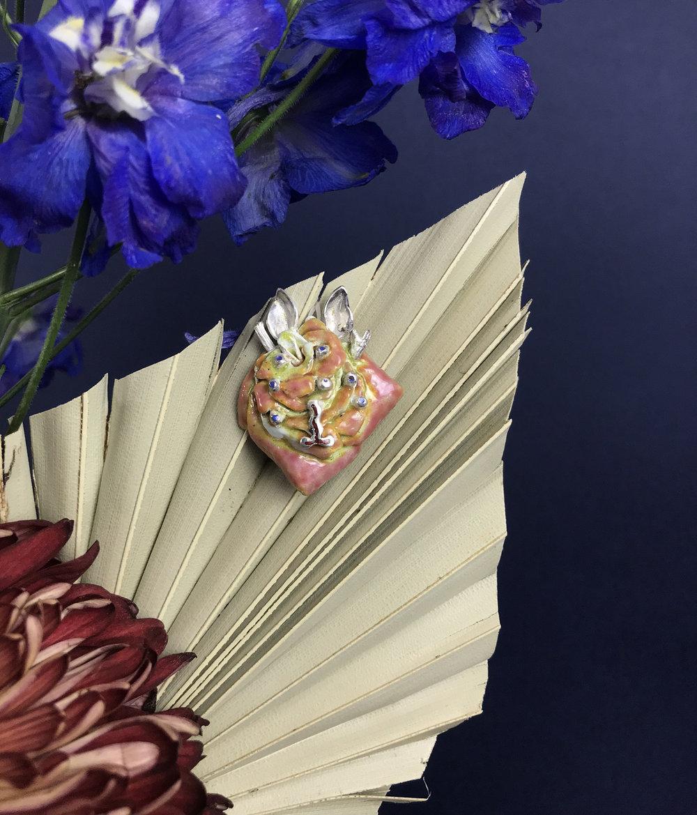 rose pendant flower