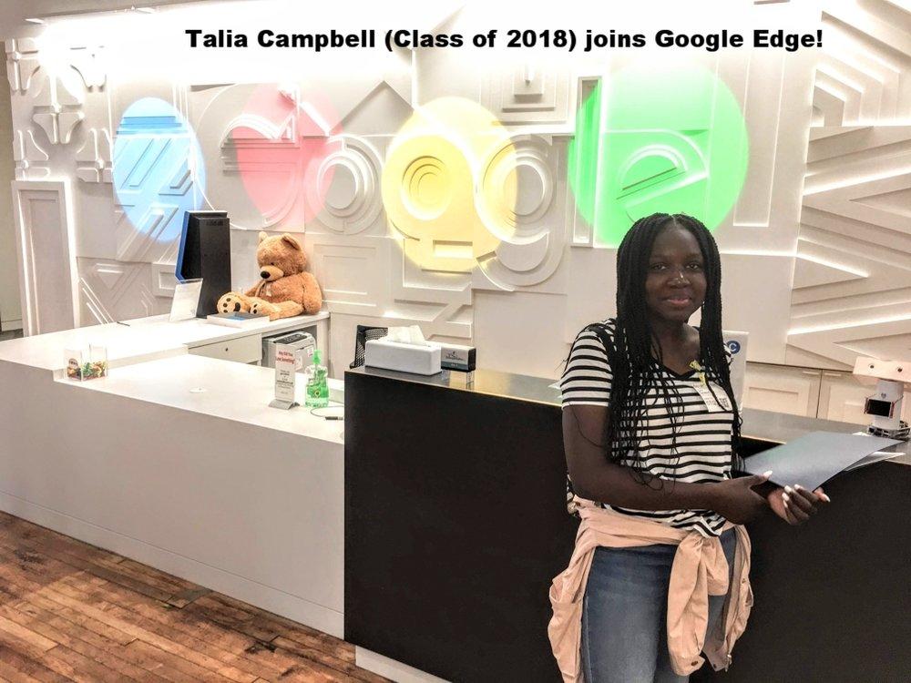 Talia Campbell - Google's Team Edge