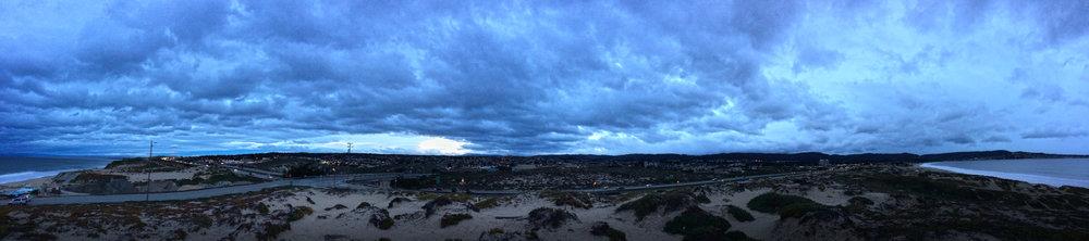 Tioga Avenue Stormy Sunrise