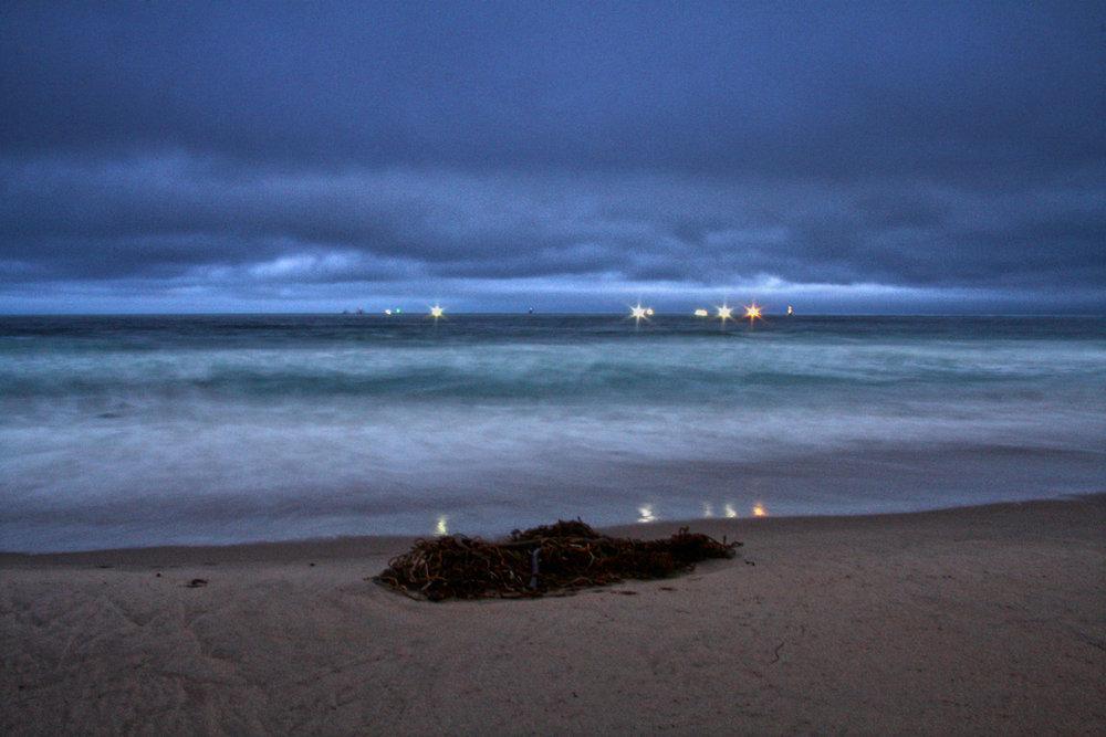 Fishing Boats Before Dawn