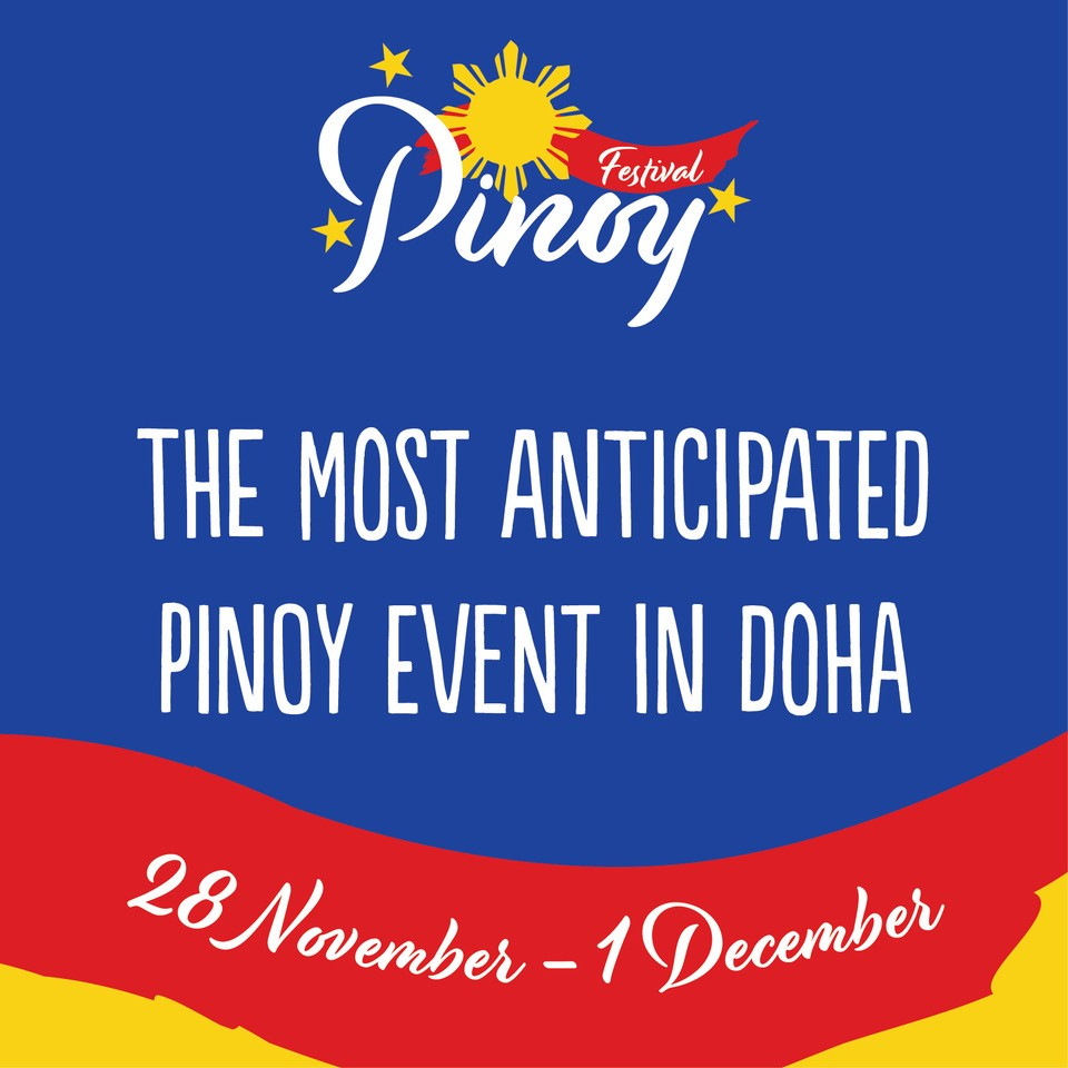 Qatar Pinoy Festival celebrates the rich culture of the Philippines. The festival will drive the second largest population in Qatar to join in one place and experience the different clothing, food and entertainment the country has to offer.