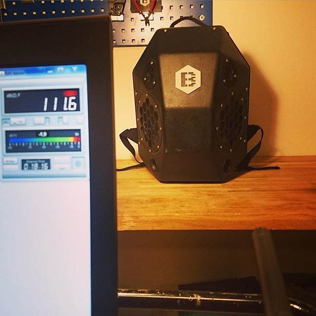 The audio level of the BeatBringer is above 110 dB! Quick demo shown with calibrated measurement microphone - showing 111 dB at 1 m.  #beatbringer #audiotest #engineering #engineeringlife #speakerbackpack #portablespeaker #portableaudio #tech #techstartup #skate #gadget #kickstarter #freestyle #prototyping